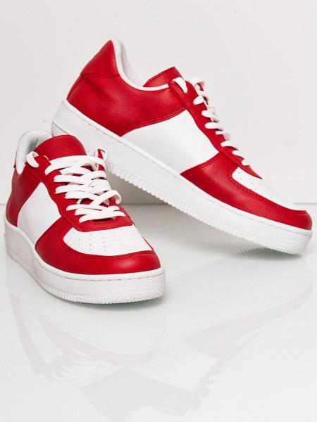 Code47 Herren Sneaker Freizeitschuh Straßenschuh Laufschuh Casual Lederoptik Modell SH-1001C