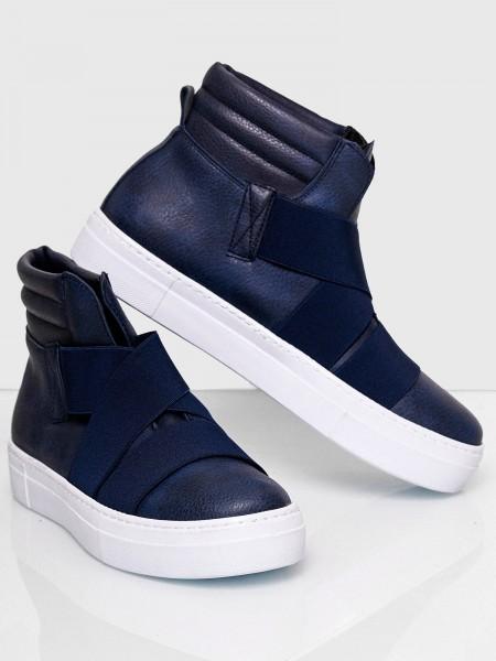 Code47 Herren Sneaker Freizeitschuh Straßenschuh Laufschuh Casual Lederoptik Modell SH-1002C