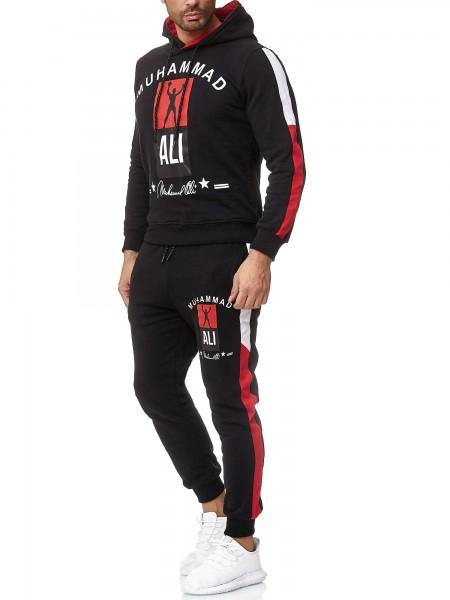 Code47 Herren Jogginganzug Trainingsanzug Sportanzug Boxen Ali Modell 3462