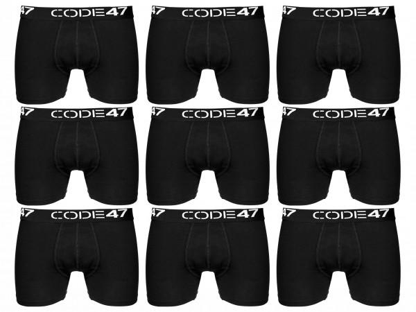 Code47 Boxershorts Men Herren 9er Pack Unterwäsche Unterhosen