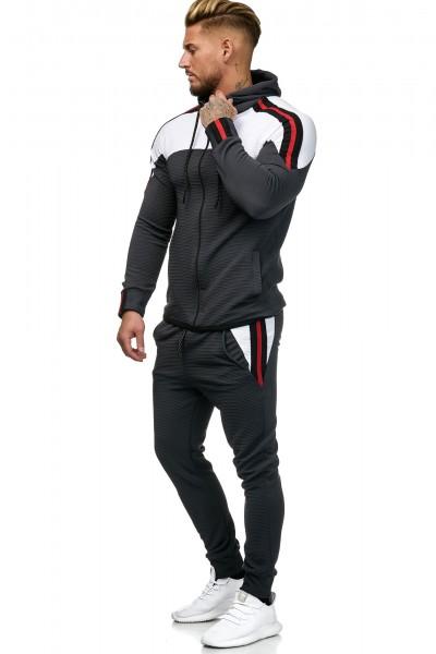 Code47 Herren Jogginganzug Sportanzug Modell 1148