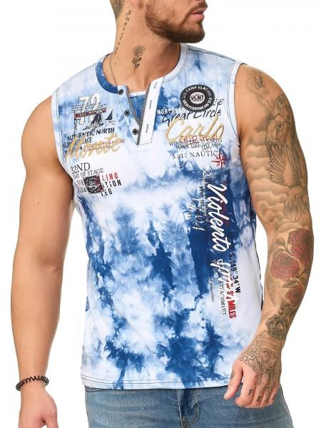 Code47 Herren T Shirt Hoodie Shortsleeve Ärmellos Shirt Tank Top Monte Carlo 4359