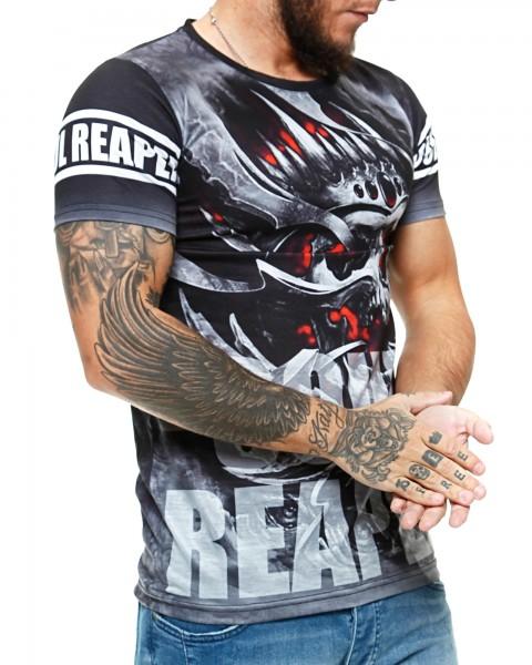 Herren T-Shirt Kurzarm Rundhals Soul Reaper Modell 1480