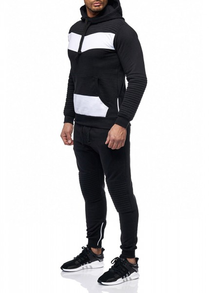 Herren Jogginganzug Jacke Sport Hose Fitness Jacke 2Colour