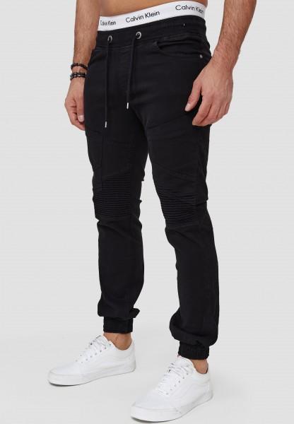 Code47 Herren Chino Jogg Jogger Joggchino Jeans Slim Fit Cargo Stretch W29-W38