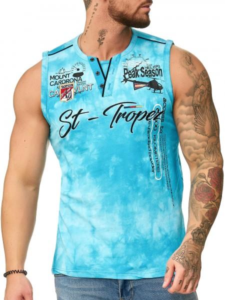 Code47 Herren T Shirt Hoodie Longsleeve Ärmellos Shirt Sweatshirt St.Tropez 3390