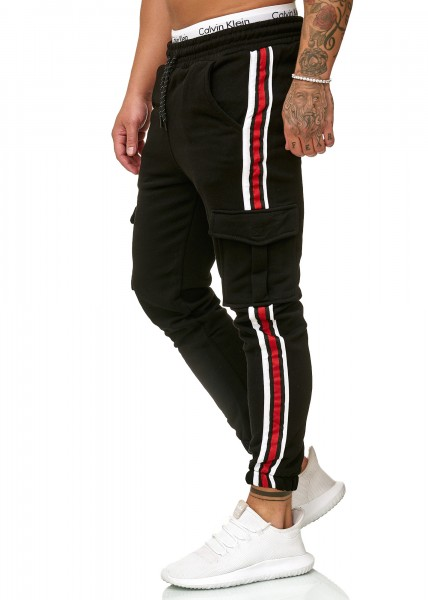 Code47 Herren | Jogginghose | Trainingshose | Sport Fitness | Gym | Training | Slim Fit | Sweatpants