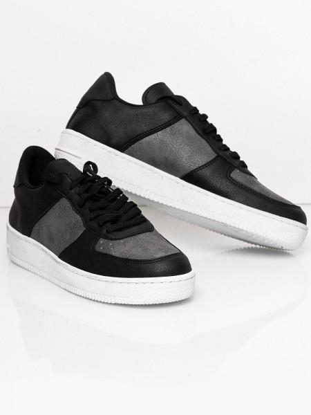 Code47 Herren Sneaker Freizeitschuh Straßenschuh Laufschuh Casual Lederoptik Modell SH-1006C