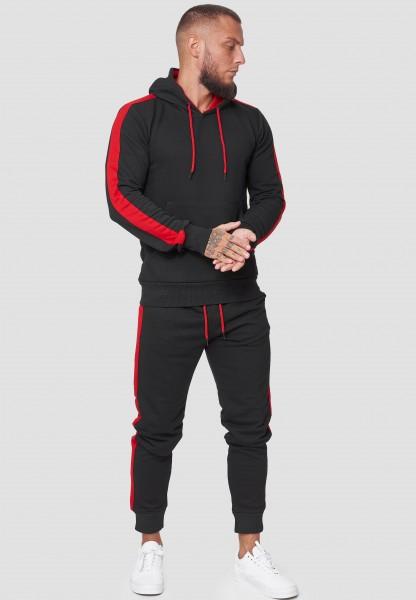 Code47 Herren Jogginganzug Trainingsanzug Männer Sportanzug Fitness Fitnessanzug Outfit Streetwear J
