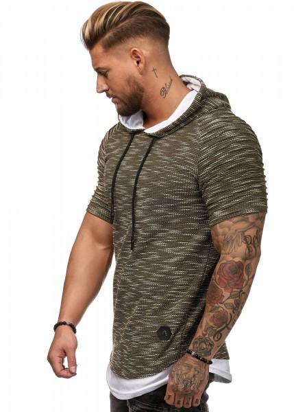 Herren Shirt Kapuze W2