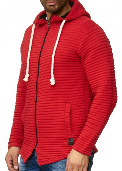 Code47 Herren Pullover Hoodie Kapuzenpullover Strickpullover Longsleeve Sweater Sweatshirt PulliMod