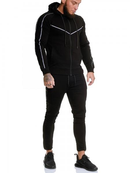 Code47 | Herren Trainingsanzug | Jogginganzug | Sportanzug | Jogging Anzug | Hoodie-Sporthose | Jogg