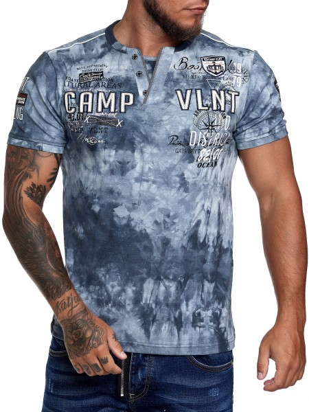 Code47 T Shirt Herren Tshirt Tee T-Shirt Washed Männer Polo Poloshirt Shirt Basic Hoodie Shortsleeve