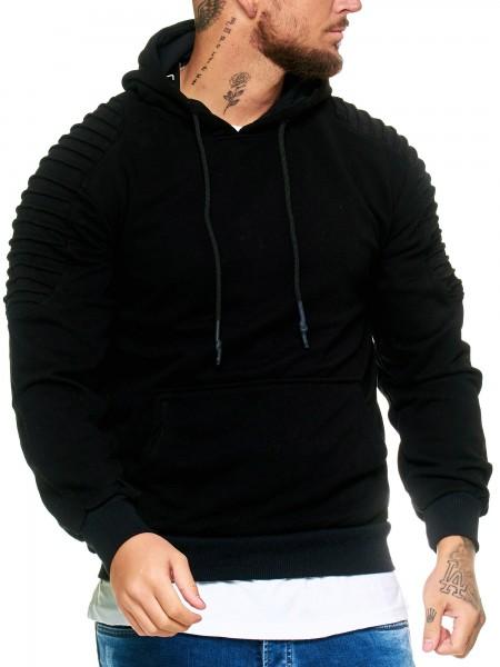 Herren Hoodie Kapuzenpullover Winter Schlicht Pulli Pullover