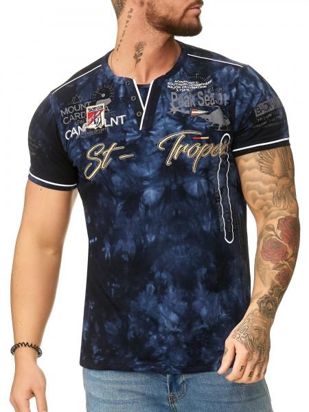 Code47 Herren T Shirt Hoodie Longsleeve Kurzarm Shirt Sweatshirt St.-Tropez 3394