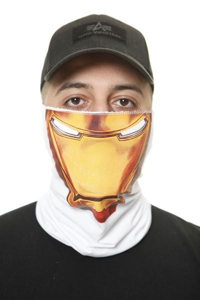 Code47 Gesichtsschutz Bandana Halstuch Bedruckt Biker Schal Ski Motorrad Gesichtsmaske