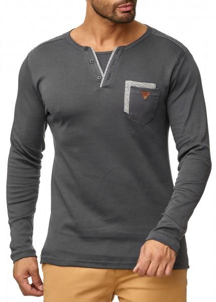 Code47 Herren Pullover Kapuzenpullover Hoodie Sweatjacke Longsleeve Sweatshirt Basic Modell 1045