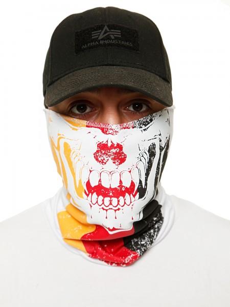 Code47 Gesichtsschutz Halstuch Bedruckt Biker Schal Ski Motorrad Gesichtsmaske