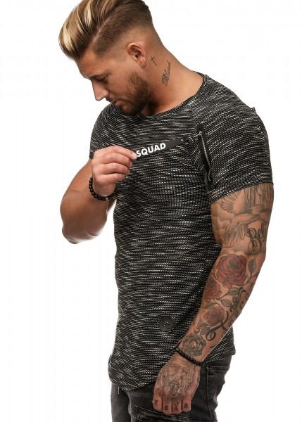 Herren Shirt Zipper W1