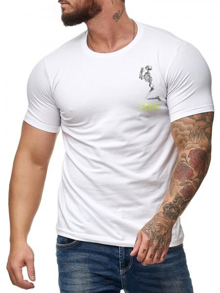 Code47 Herren Herren T-Shirt Kurzarm Shortsleve Polo Shirt Poloshirt Modell Pray