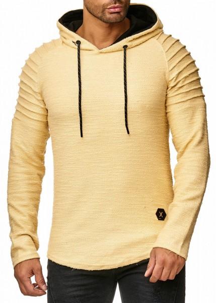 Code47 Herren Pullover Kapuzenpullover Hoodie Sweatjacke Longsleeve Sweatshirt Jacke Basic