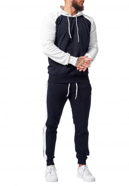 Herren Jogginganzug Jacke Sport Hose Fitness Hoodie Paris